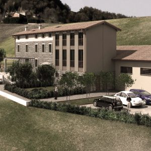 architetto modena villa piscina