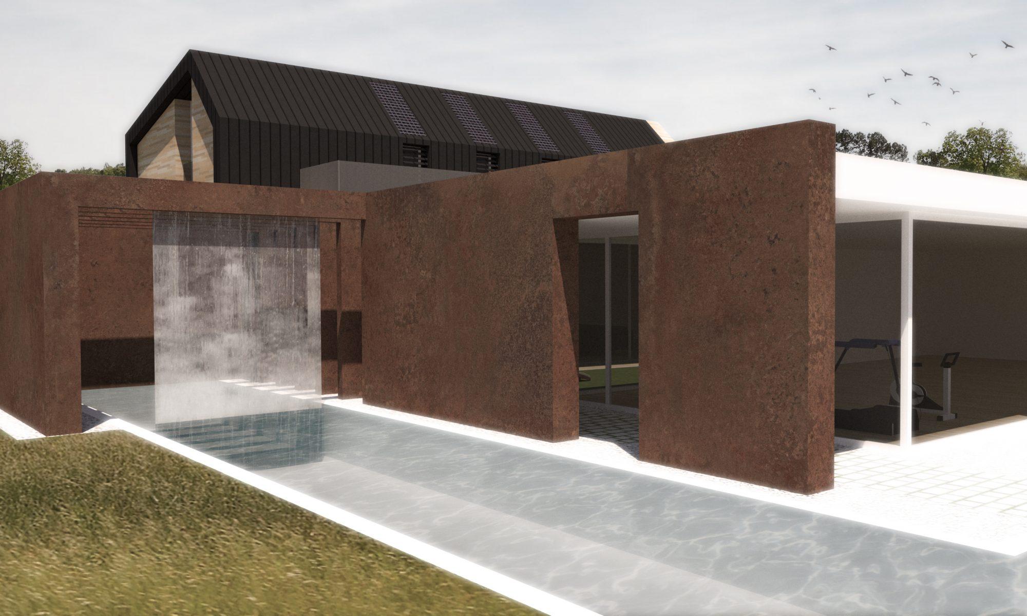 concept design for modern home